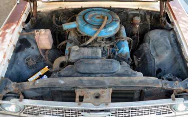 1963 Ford Galaxie 500 Wagon Field Find