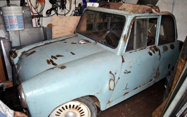 Adult Pedal Car: Adult Pedal Car: 1953 Mochet CM-125Y