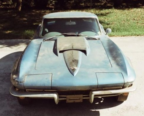 Neil Armstrong's 1967 Corvette Sting Ray