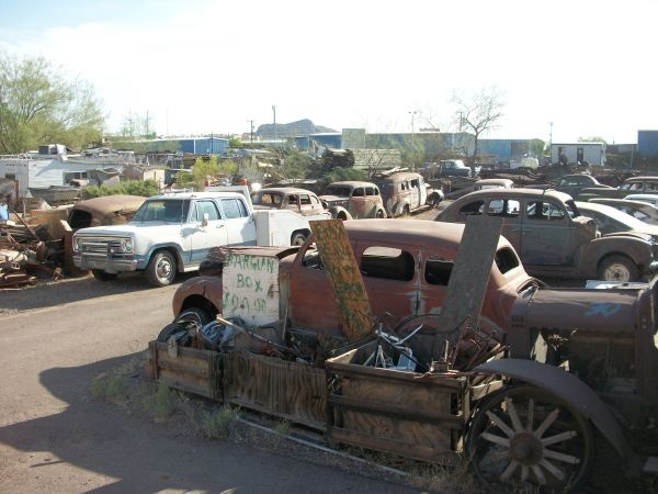 Classic Cars Arizona Salvage Yards